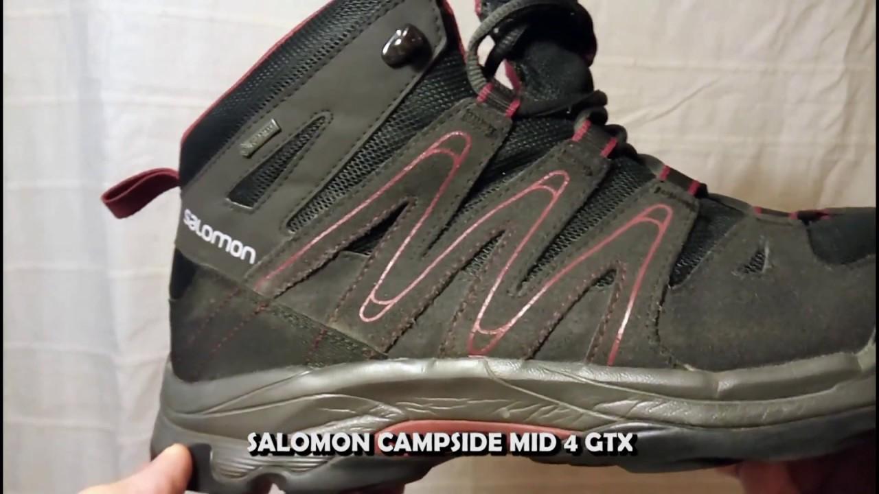 Salomon Campside Mid 4 GTX YouTube