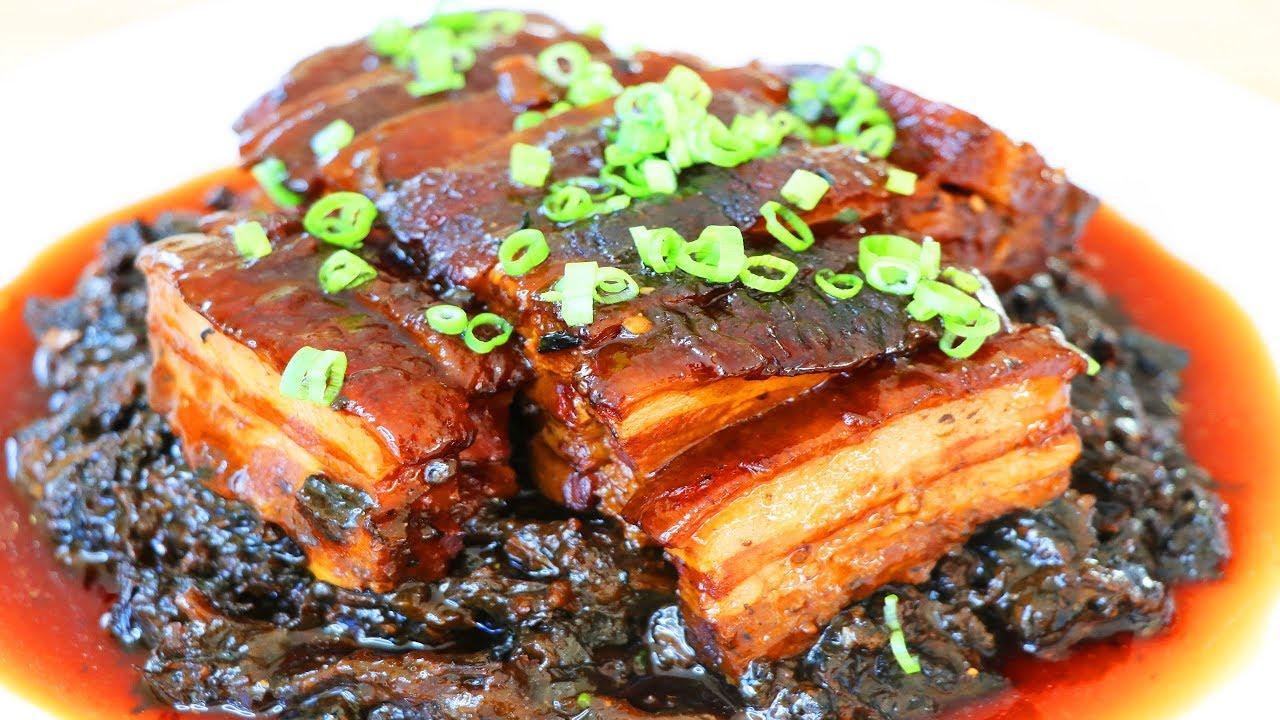 梅菜扣肉的家庭做法 | 中國新年快樂 |【美食天堂 CiCi's Food Paradise】 - YouTube