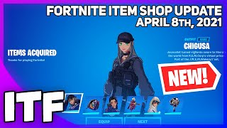 Fortnite Item Shop *NEW* ANIME LEGENDS BUNDLE + POKI! [April 8th, 2021] (Fortnite Battle Royale)