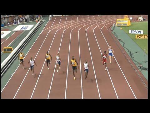 Men's 200m final - Osaka 2007 - 50 fps