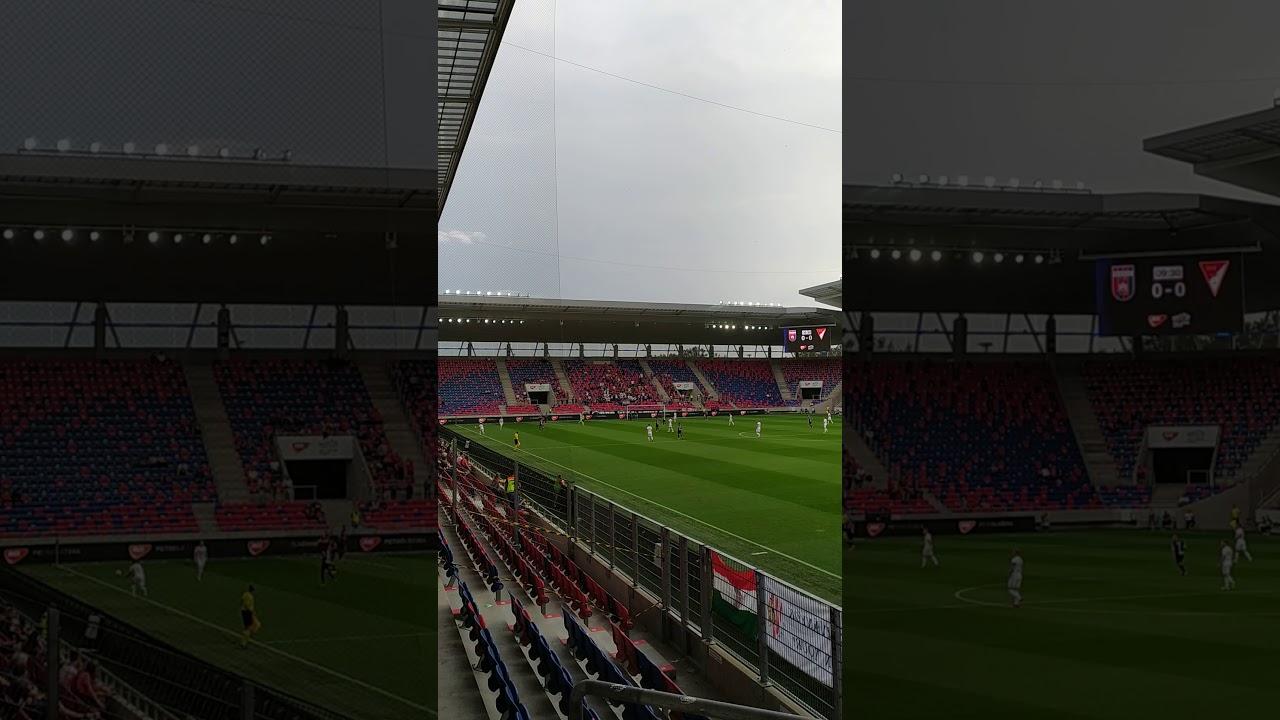 MOL Fehérvár FC-DVSC 1-0 Debrecen alé - YouTube