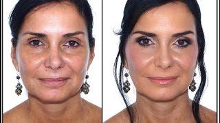 Maquillaje de Noche para Pieles Maduras - 50 años