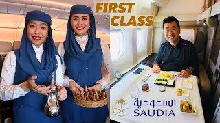 Saudia Airlines First Class - Is it Sam Chui approved?