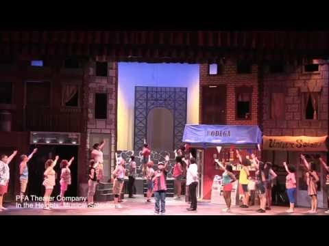 PFA Theater Company - In the Heights Musical selections