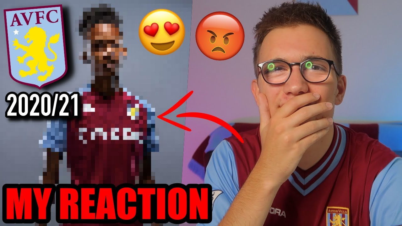 REACTING TO THE *NEW* ASTON VILLA 2020/2021 HOME SHIRT!