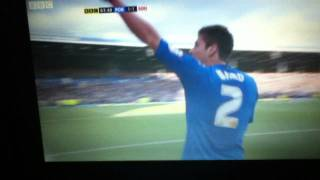 Portsmouth 1- 1 Southampton Joel Ward Equaliser