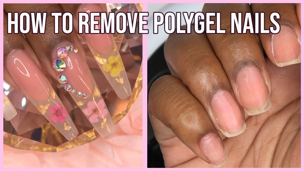 Polygel Nails How To Remove Polygel Nails Gelish Polygel Youtube