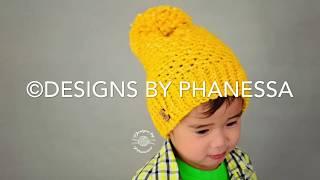 Crochet Starlight Slouch Beanie