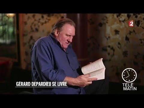 Gérard Depardieu se livre