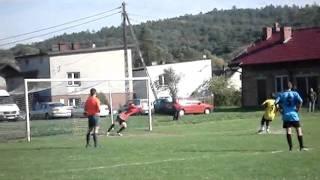 Ks Okocim vs Wulkan Biesiadki - Karny na 3:0 (2009)(Pewnie wykonany karny na 3 - 0 dla seniorów Ks Okocim. Ostatecznie mecz zakończył się wynikiem 5 - 0 dla Ks Okocim po pierwszej połowie. Na drugą połowę ..., 2011-07-12T17:45:10.000Z)