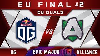 OG vs Alliance [EPIC] EU Final EPICENTER Major 2019 Highlights Dota 2