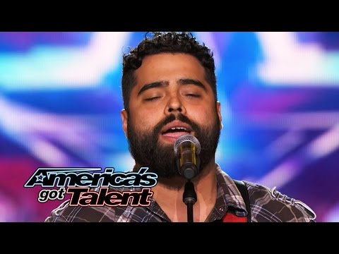 "Sal Gonzalez: Wounded Warrior Sings ""Simple Man"" Cover - America's Got Talent 2014"