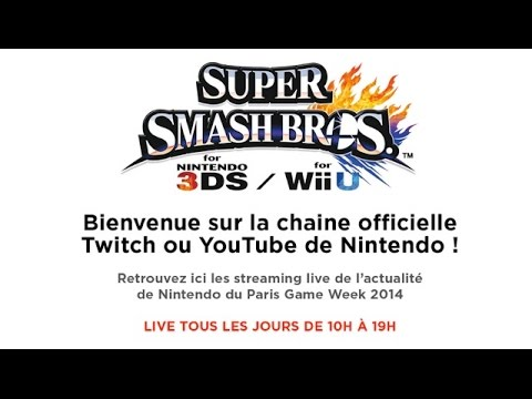 Finales du championnat de France Super Smash Bros for Wii U et 3DS: En direct de la PGW 2014