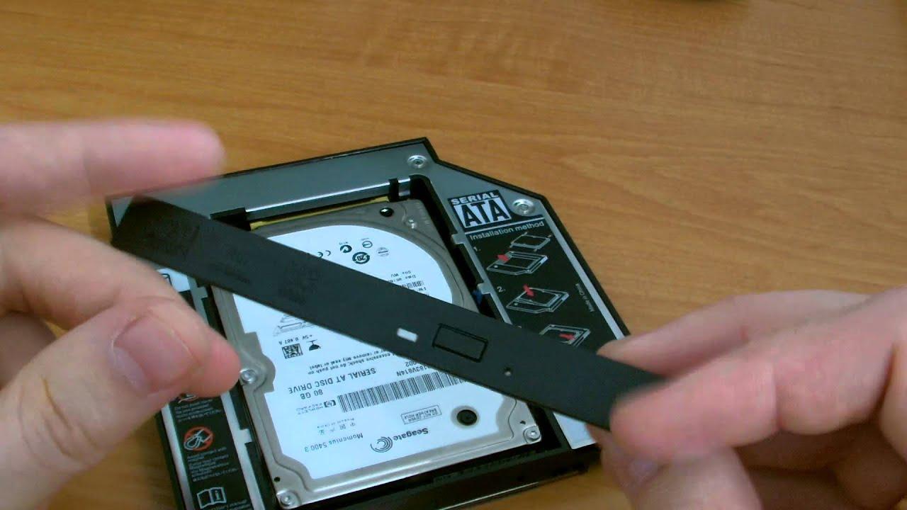 Установка optibay / оптибэй в MacBook Pro 13