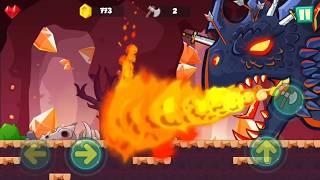 Jungle Adventures: Super World   Lava Plains Boss   Gameplay Video Walkthrough part 27