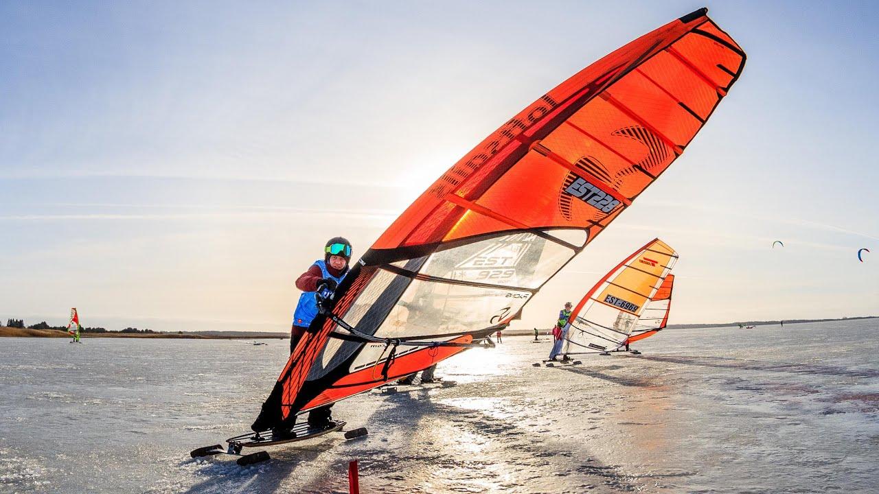 Ice surfing EMV 2021 I etapp