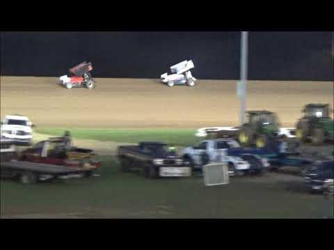 AJ Flick 410 Sprint Lernerville Speedway 2017 Steel City Stampede