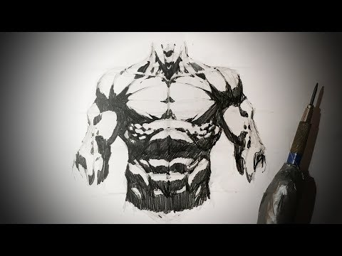 how-to-draw-the-torso-(comic-book-style)-pencil-drawing-tutorial