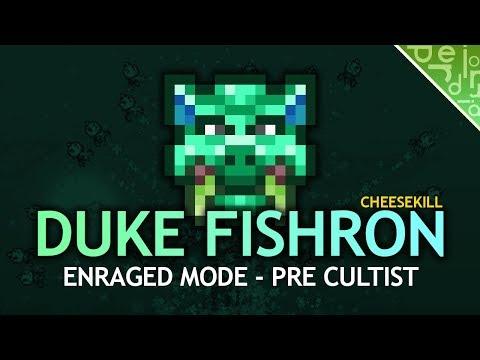 Duke Fishron Cheesekill (Pre-Cultist) L Terraria 1.3 Expert Mode