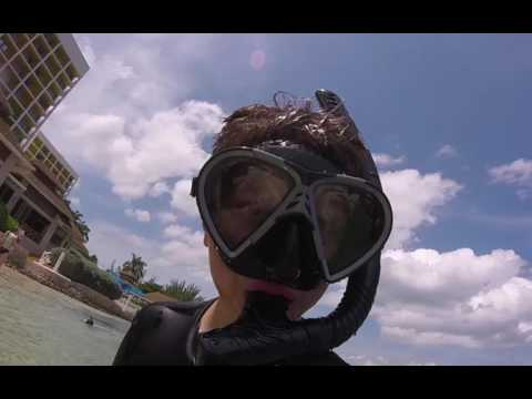 snorkling and on the cruises ship going and in jamaica