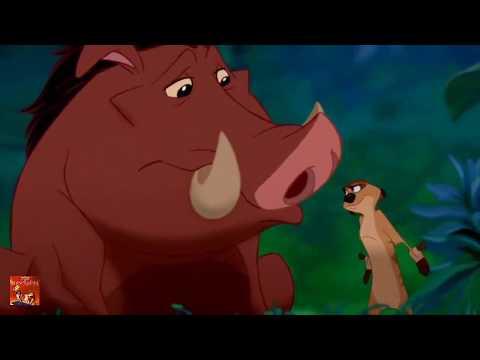 Timón y Pumba cantan y lloran, Es la noche del Amor, El rey león