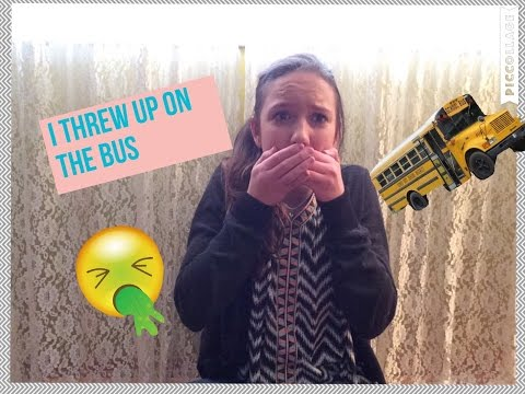I Threw Up On The Bus! Story Time