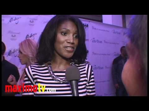 DENISE BOUTTE (Meet The Browns) Interview at Celebrity Catwalk 2010