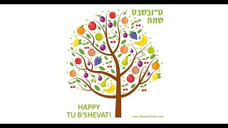 Blessing on Fruits; The Seven Species; Breslov Tu B'Shevat Customs