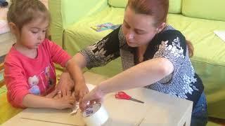 Бесплатное развитие для малышей урок 14 -поделка к 1 му мая