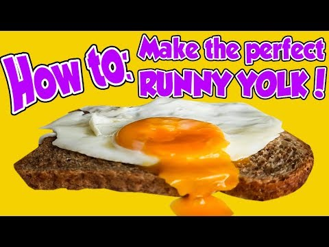 HOW TO: Make the PERFECT RUNNY egg YOLK!!