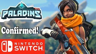 Nintendo Switch E3 Leak Looks More Convincing with Paladins Confirmed