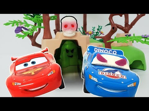 Disney Car Lightning McQueen went into a strange cave and turned into a villain. ❤️ Rachaman Toy