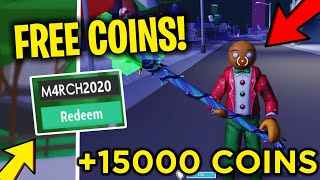 *LEGENDARY!* ALL NEW WORKING CODES FOR STRUCID 2020 (FREE SKIN + 15,000 COINS!)