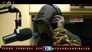 Young Cannibal live ON ukhoziFm dropping bars addressing stupit music followers mp3