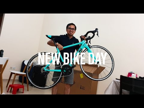 Bianchi Sprint Initial Review | Shimano Ultegra | New Bike Day