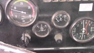 Будни камазистов : Подъем кузова и звук двигателя  v8