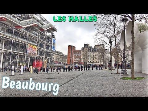 Beaubourg ; centre Pompidou ; Le Pouce ; César ; Les Halles ; Art et Culture ; Paris