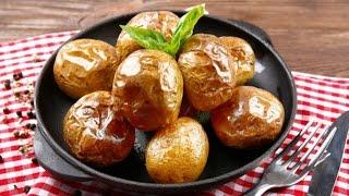 Запеченный картофель целиком