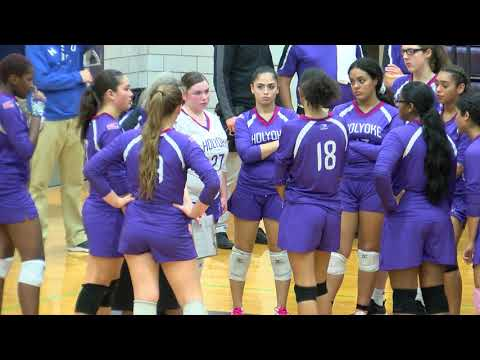 Holyoke High School Girls Volleyball Advances