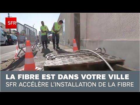SFR accélère l'installation de la Fibre