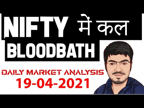 NIFTY PREDICTION U0026 BANKNIFTY ANALYSIS FOR 19 APRIL - NIFTY TARGET FOR TOMORROW MR.SCALPER