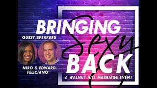 Bringing Sexy Back: Igniting Healthy Intimacy and Sex in Marriage