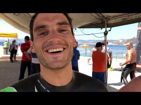 Jesús Barreiro se impone a Nacho Gaitán en la Vuelta a nado a Ceuta