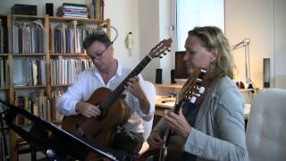 Bach invention #1 (2 guitars)