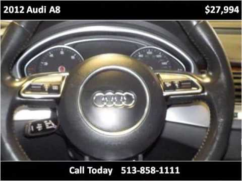2012 Audi A8 Used Cars Cincinnati OH