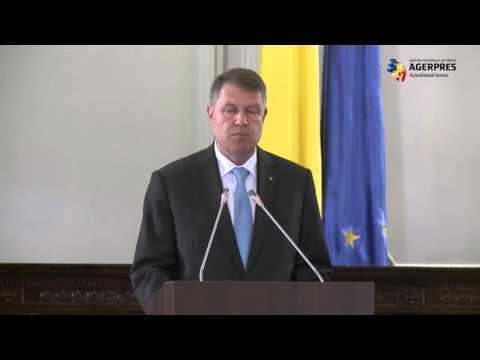 Iohannis: Academia Română, un reper de competenţă