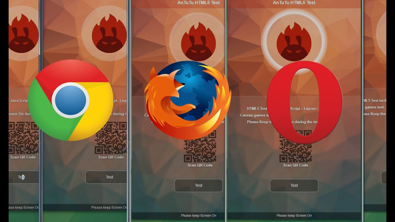 Browser speed test - Mozilla Firefox vs Chrome vs Opera