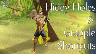 Hidey Hole and Grapple Shortcut Guide