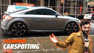 Spotting the New Audi TT RS in Manhattan | Carspotting