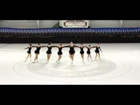My Figure Skating Group Routine!!